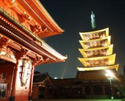 大晦日の浅草寺