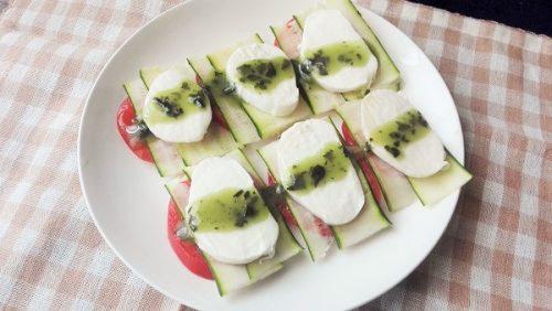 ズッキーニ 生 レシピ
