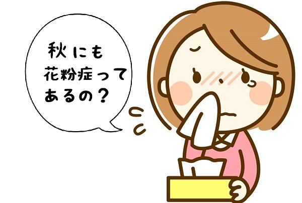 秋 花粉症 原因