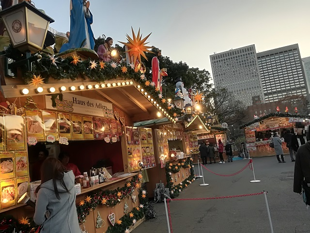 クリスマスマーケット 日比谷